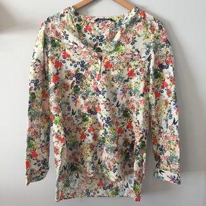 Zara • Floral Blouse